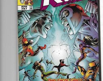 Lot of 4. X-Men Comic books. Like new