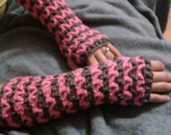 Crochet Wristers/Fingerless Gloves
