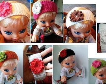 Crochet 100% cotton headband