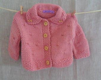 Coat baby girl 3-6 months