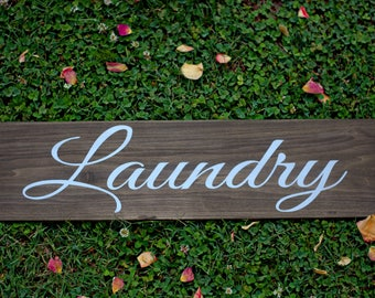 Laundry Sign | Wooden Sign