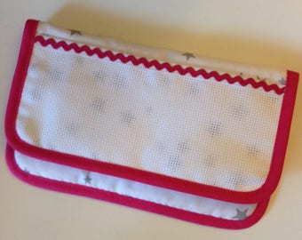 Pouch glasses case to cross-stitch, custom