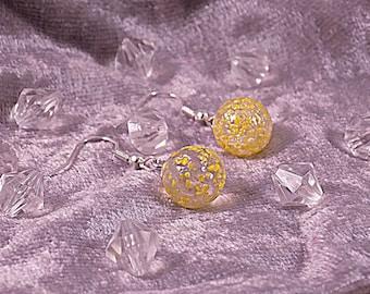 """Earrings """"Crystal"""" Creat'Y. O.N - silver & precious-"""