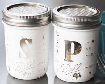 Salt and pepper shaker.