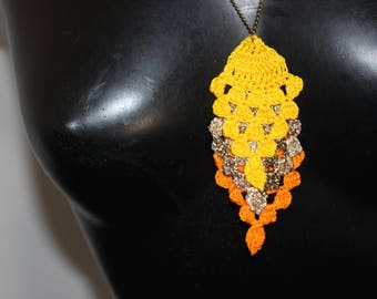 "Necklace spirit ""Fall pineapple"""