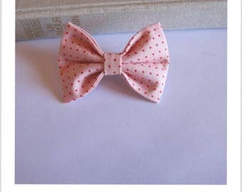 "hair bow ""clip - me"" red rose"