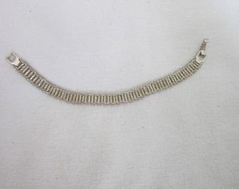 Vintage Premier Designs Silver Fancy Link Bracelet
