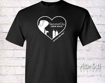 Classic Crew T-Shirt (Adult Unisex) - Heart Logo
