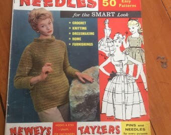 Pins And Needles 1961 50 Patterns in top condition