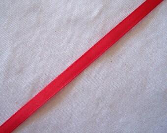 Ribbon taffeta, red, width 40 mm (T-935)