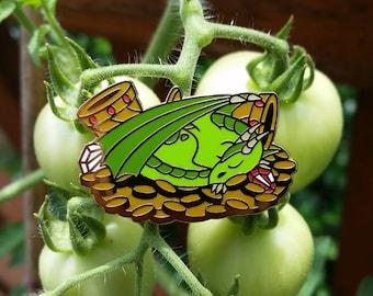 Green Dragon Cute Pin Enamel Lapel Pin