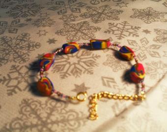 cute and trendy bracelet, unique (multicolor)