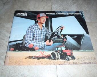 Case IH 1986 Farm Equipment Buyers Guide