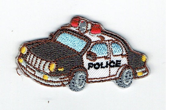"""Patch Thermo trend pattern """"Police"""""""