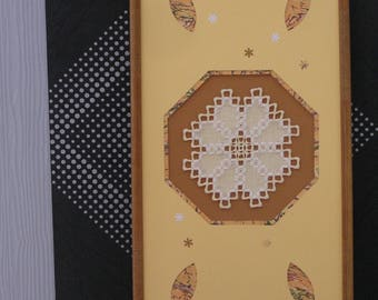 Hardanger embroidery frame