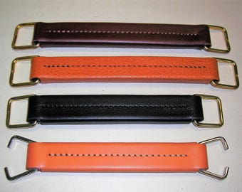 Handle satchel leather color 2 sizes for repairs
