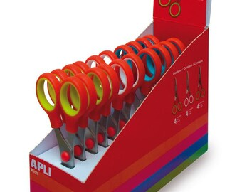 School scissors 13 cm - APLI Kids - Ref 12822 (sold separately) - scissors child