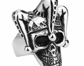 Stunning skull stainless steel, skull, skull ring