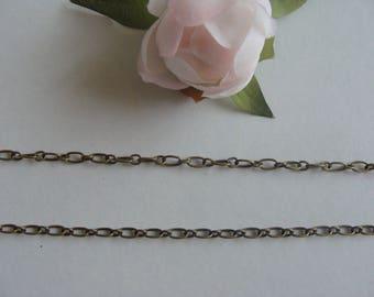 Chain link antique bronze color