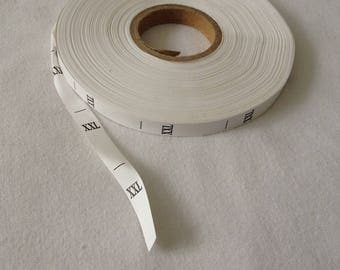 Tag Size XXL clothing creations sewing by machine sewing tape