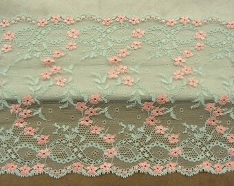 Beautiful French CALAIS lace bicolor width