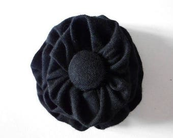 Elastic fabric flower