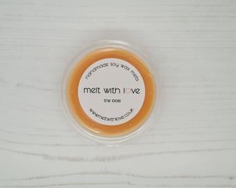 Aftershave Scented Soy Wax Melt Shot Pot. Soy wax melts, soy wax, male scented wax melts, male candle melt, wax melt favour, wax tart.