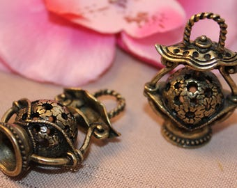1 Bronze 43x28mm - SC16654 Lantern pendant.