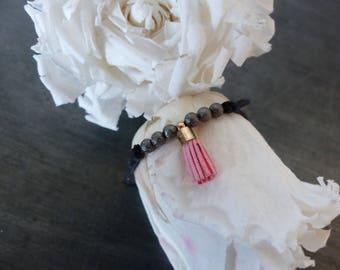 Bracelet sliding bead/tassel