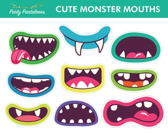 Cute Monster Mouths