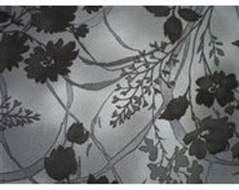 grey flowers on gray ref12042901 patchwork fabric
