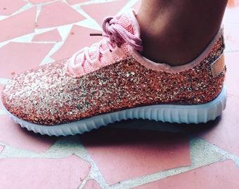 Glitter Bomb Tennis Shoe Sneakers