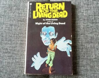 Vintage Book Return of the Living Dead by John Russo