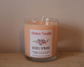 Candle of atmosphere to ►Ambre vanille◄ soy wax