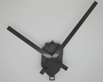 long straight needles 13 + pendulum clock mechanism / 18cm DIY