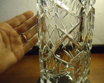 Ceylon by Waterford Marquis Collection Brilliant Cut Crystal Hurricane Candle Shade