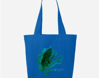 Funky Octopus Tote Bag