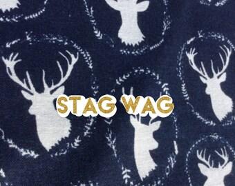 Stag Wag dog bandana