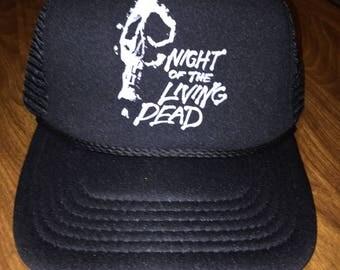 Night of the Living Dead trucker hat