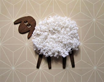 Sheep - Funny wall decor.