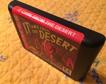 It Came from the Desert NTSC-U Genesis *Repro* cart only