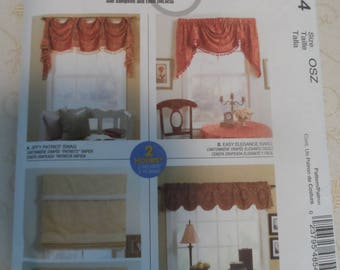 McCalls  Pattern for Window Treatments