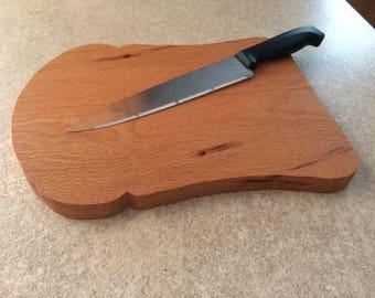 Cutting (Bread) Board Solid Oak Free Shipping Canada