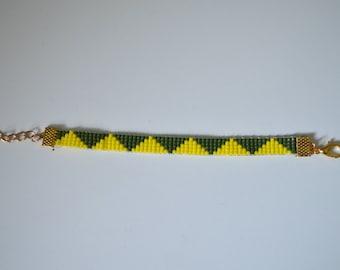 Bracelet in miyuki Delica 11/0