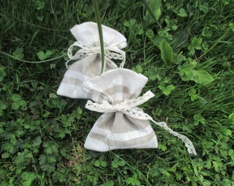 mothers day 2 linen Lavender sachets
