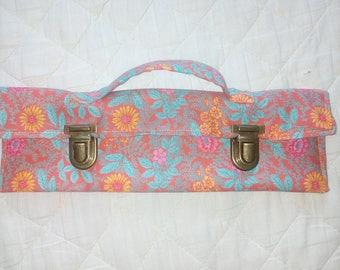 School Kit or makeup floral
