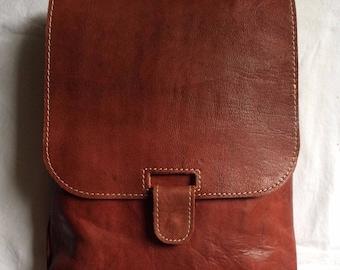Briefcase Messenger bag 100% leather laptop Briefcase bag