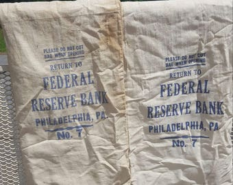 Federal Reserve Money Bags