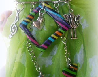 set of 2 jewelry... a little colorful LITTLE M...
