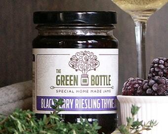 Blackberry riesling thyme jam